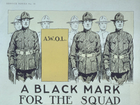 A Black Mark for the Squad. A.W.O.L.  - 512701
