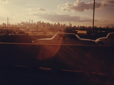 MIDTOWN SKYLINE OF NEW YORK CITY SEEN FROM QUEENS. THIS PROJECT IS A PORTRAIT OF THE INNER CITY ENVIRONMENT