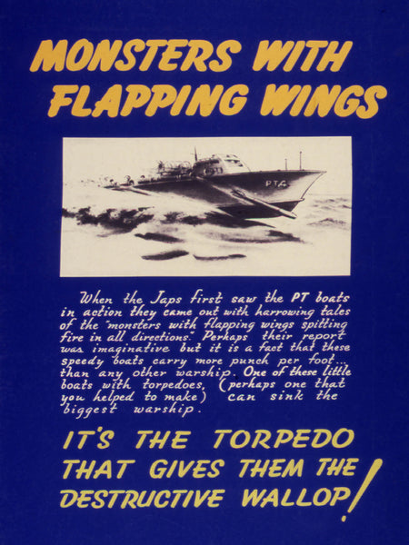 Monsters with flapping wings. It's the torpedo that gives them the destructive wallop!