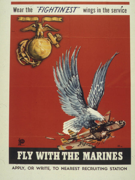 WEAR THE FIGHTIN'EST WINGS IN THE SERVICE