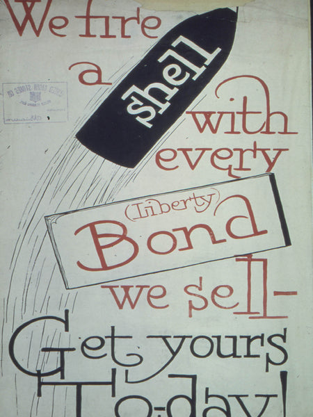 We fire a shell with every Liberty Bond we sell. Get Yours Today