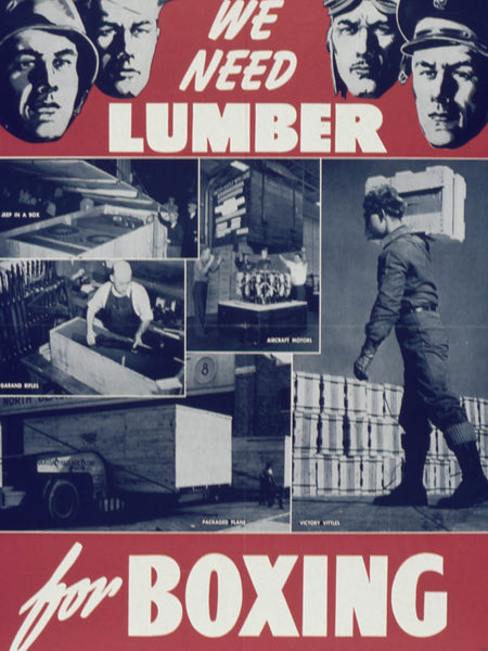 We need lumber for boxing