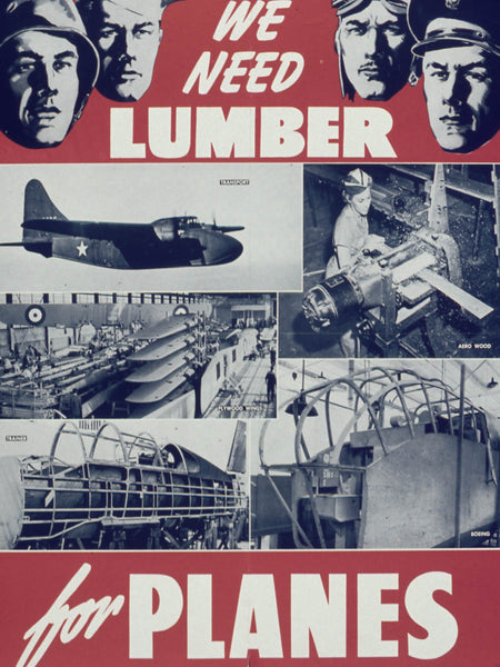 We need lumber for planes