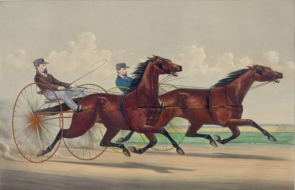 Fast trotting in the west: Lucy and Goldsmith Maid