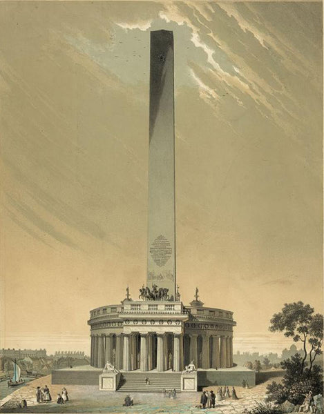 Design of the national Washington Monument