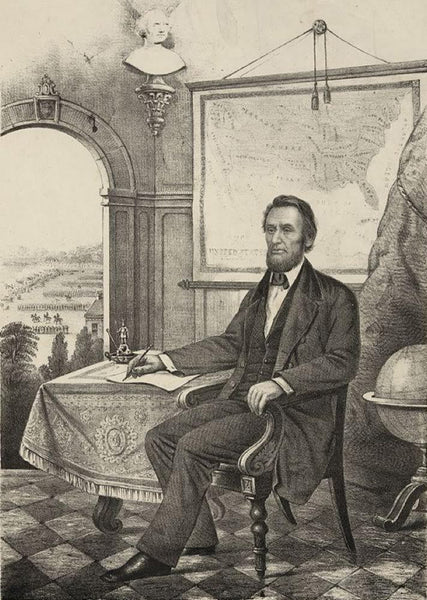 A. Lincoln President of the U.S.