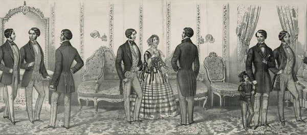 Paris New York & Philadelphia fashions for spring and summer 1854 published & sold by F. Mahan no. 211 Chestnut Stret Philadelphia.