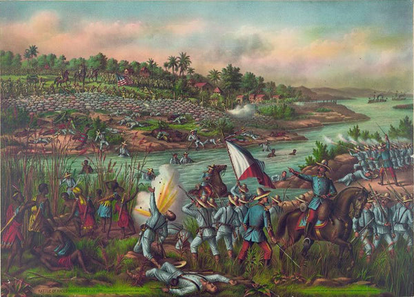 Battle of Paceo. (Manila) Feb'y 4' & 5' 1899