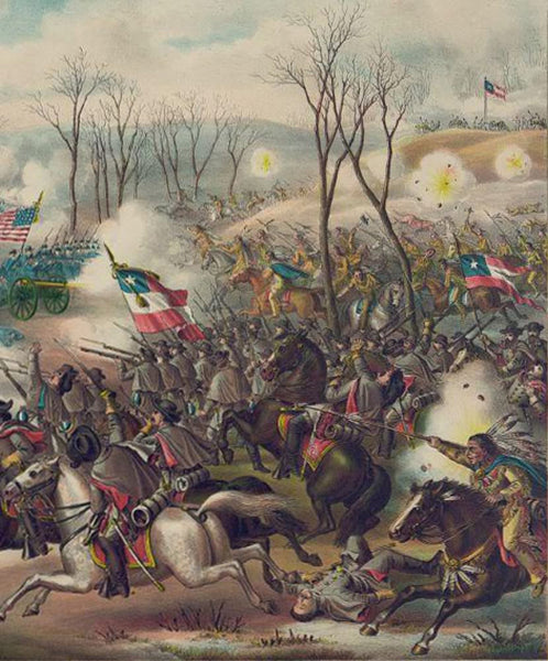 Battle of Pea Ridge Ark.
