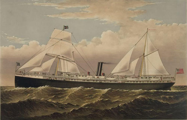 Pacific Coast Steamship Co's Steamer: State of California Goodall Perkins & Co. General Agents San Francisco Cal
