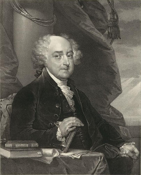 John Adams second president of the United States