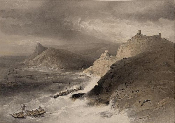 The gale off the port of Balaklava 14th Nov. 1854