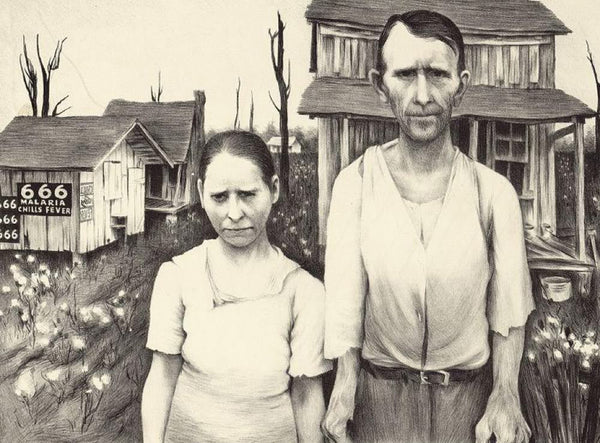Arkansas sharecropper and wife