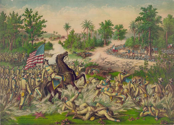 Battle of Quingua Phil. I. April 23 1899