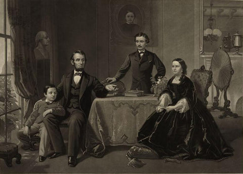 Lincoln and his family