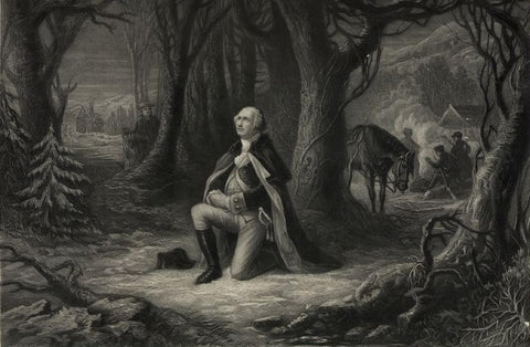 The prayer at Valley Forge