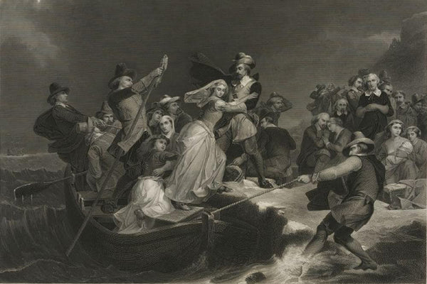 Landing of the Pilgrims on Plymouth Rock 1620