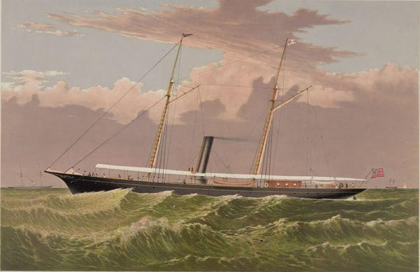 Steam yacht Corsair