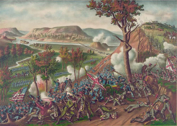 Battle of Missionary Ridge - fought November 23-25 1863