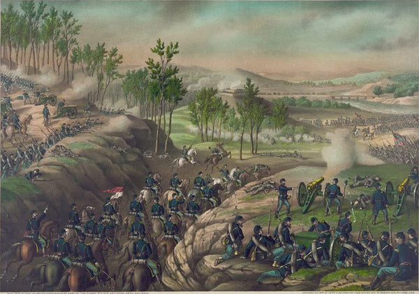 Battle of Resaca--May 13 to 16 1864 ...