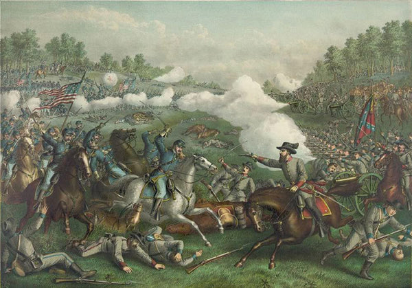 Battle of Opequan or Winchester Va.--Sept. 19' 1864--Union: (Gen. Sheridan) ... Conf. (Gen. Early) ...