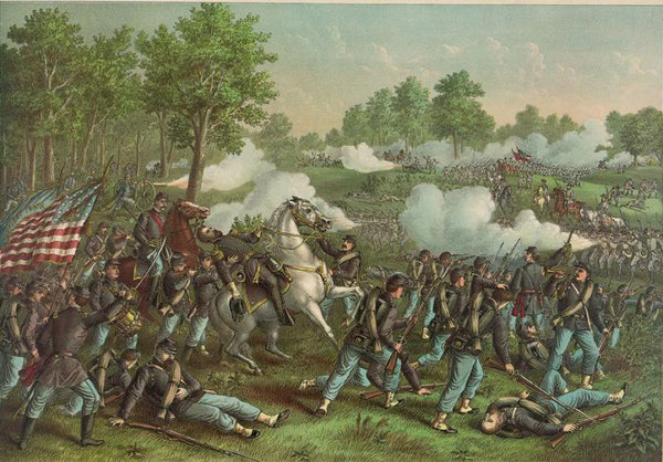 Battle of Wilson's Creek--Aug. 10 1861--Union (Gen. Lyon) ... Conf. (Gen. McCulloch) ...