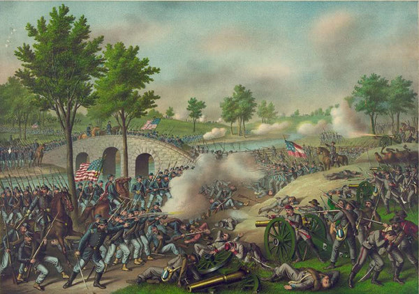 Battle of Antietam--Army of the Potomac: Gen. Geo. B. McClellan comm. Sept. 17' 1862 ...