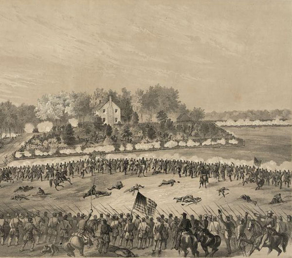 Battle of Jackson Mississippi--Gallant charge of the 17th Iowa 80th Ohio and 10th Missouri supported by the first and third brigades of the seventh division