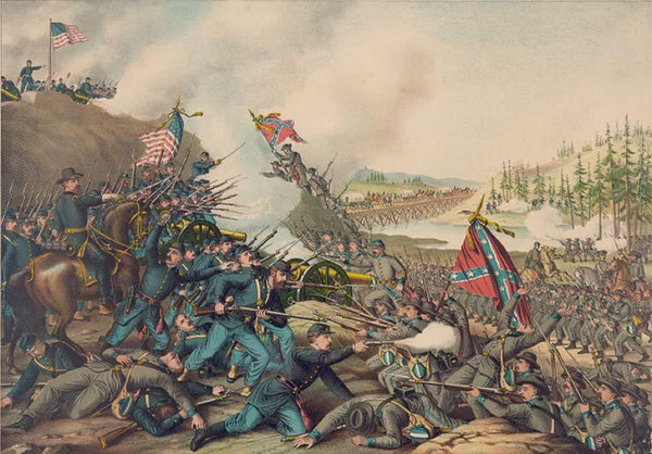 Battle of Franklin. November 30 1864-Union (Gen. Schofield) ... Conf. (Gen. Hood) ...