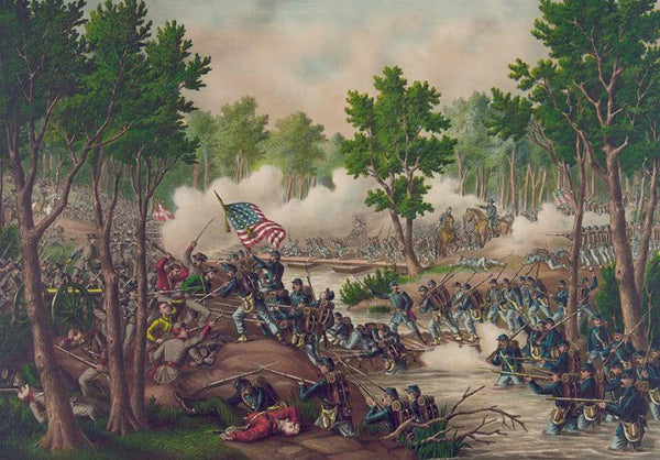 Battle of Spottsylvania--Engagements at Laurel Hill & NY River Va. ... May 8 to 18 1864.