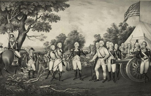 Surrender of General Burgoyne at Saratoga N.Y. Oct. 17th. 1777