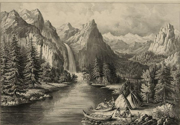 "Yosemite Valley--California: ""The Bridal Veil"" Fall"