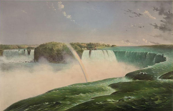 The Falls of Niagara--From the Canada side