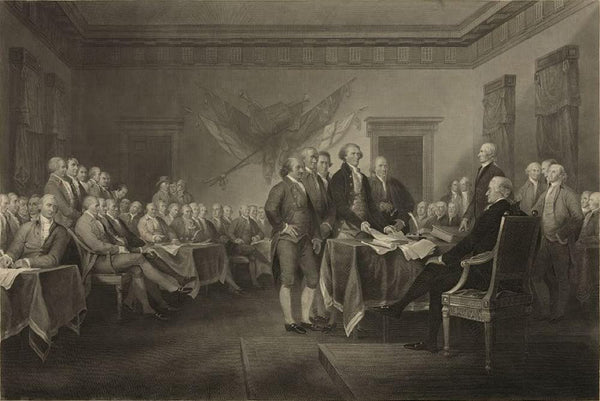 Declaration of Independence July 4th 1776
