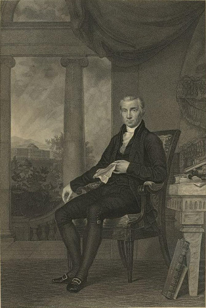 James Monroe L.L.D. President of the United States
