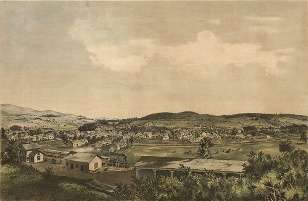 Ludlow Vt. 1859 From south hill