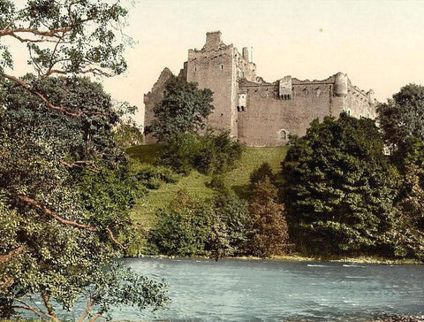 Doune Castle from the Teith Scotland