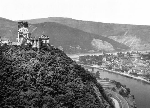 Lahneck Castle the Rhine Germany