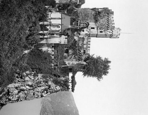 Rheinstein Castle the Rhine Germany