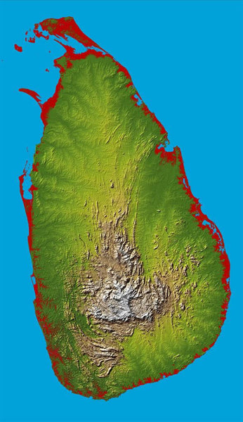 Sri Lanka, Colored Height