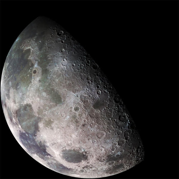 Moon - North Polar Mosaic, Color