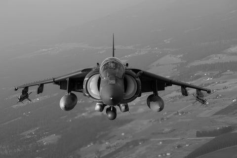 Harrier II Jet in Flight
