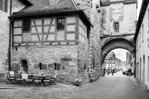 View in Rothenburg