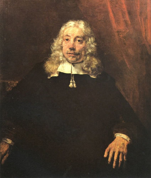 Portrait of a blond man by Rembrandt