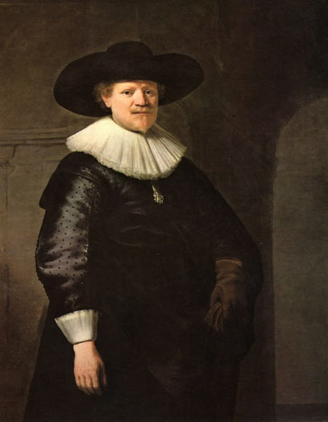 Portrait of a poet January Hermans by Rembrandt