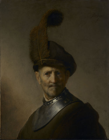An Old Man in Military Costume (1630-31) by Rembrandt