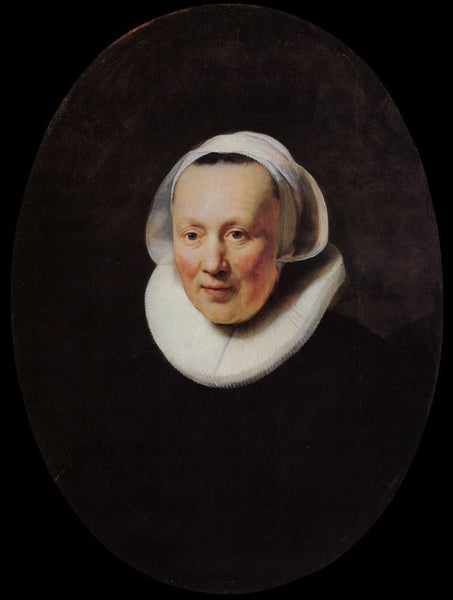 Portrait of a Woman (1633) by Rembrandt