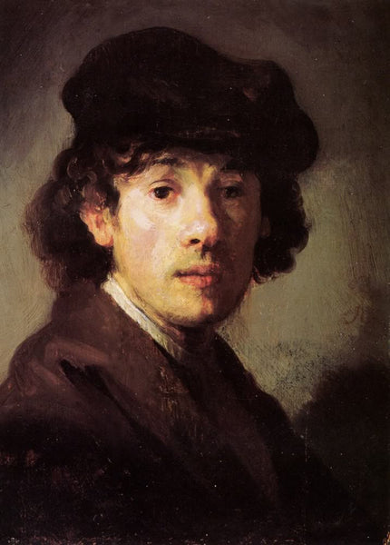 Self-Portrait of Rembrandt as a Young Man