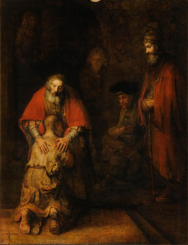 The Return of the Prodigal Son (1669) by Rembrandt