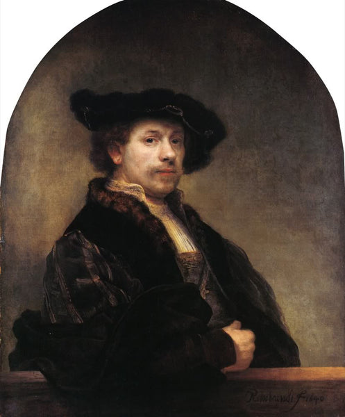 Self Portrait (1640) by Rembrandt